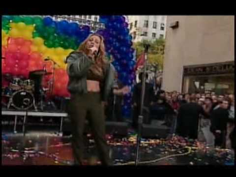 Mariah Carey - Can't Take That Away Live at The Today Show 01 11 1999