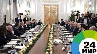 Путин ждет результатов от поставленных в послании задач уже в этом году - МИР 24