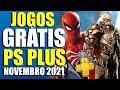 JOGOS GRÁTIS PSN PLUS NOVEMBRO 2021! SERÃO ESSES!? INFORMAÇÃO FORTE!