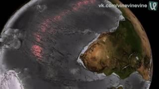 Рельеф океанского дна без воды