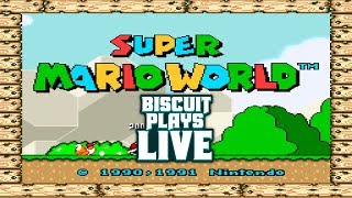 Biscuit Plays LIVE! Lost In The Forest(SMW Hack) Part 2!
