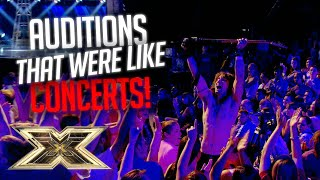 Download AMAZING Auditions that turned into CONCERTS! | The X Factor UK