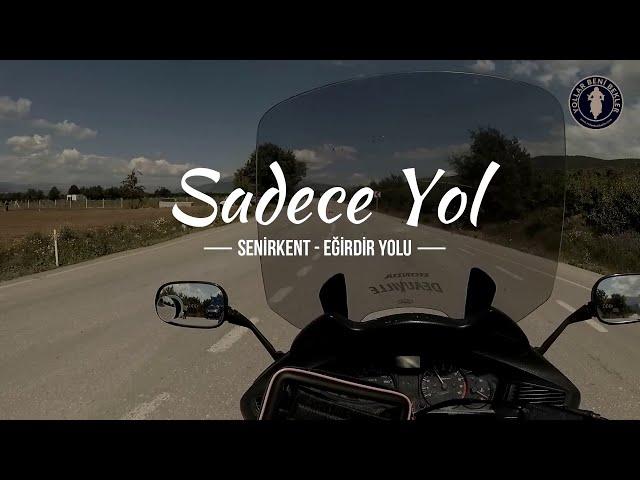 SADECE YOL // Motosiklet ile Senirkent - Eğirdir Yolu // Haziran 2020 // Honda NT700V Deauville
