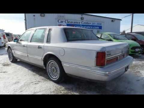 1997 Lincoln Town Car Rochester Winona, MN #XA4567 - SOLD