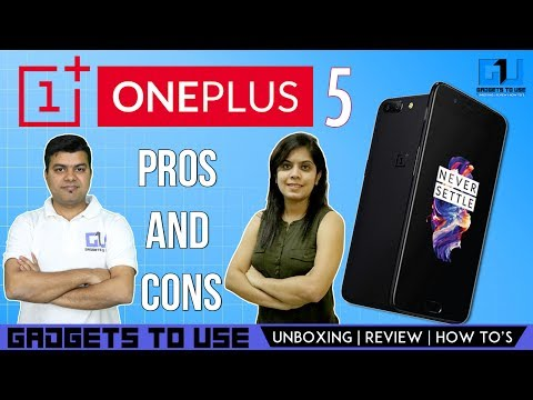 Thumbnail: OnePlus 5 Reasons To Buy or Not To Buy | Gadgets To Use