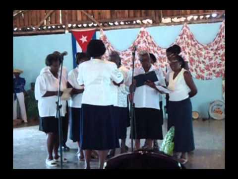 Baragua Choir - Cuba 2012 - Anglo Caribbean Folk Songs