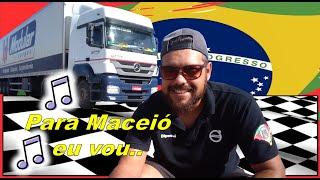 Para Maceió eu vou - Posto Fiscal de Alagoas - Fael na Estrada.