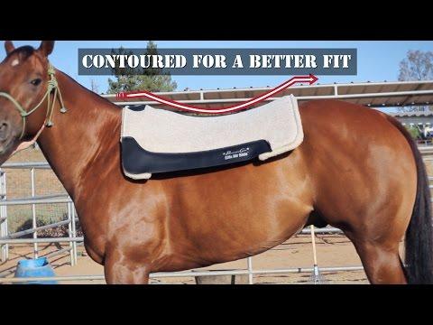 Cowboy Felt Saddle Pads - Professional's Choice
