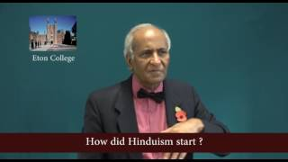 How did Hinduism start ?