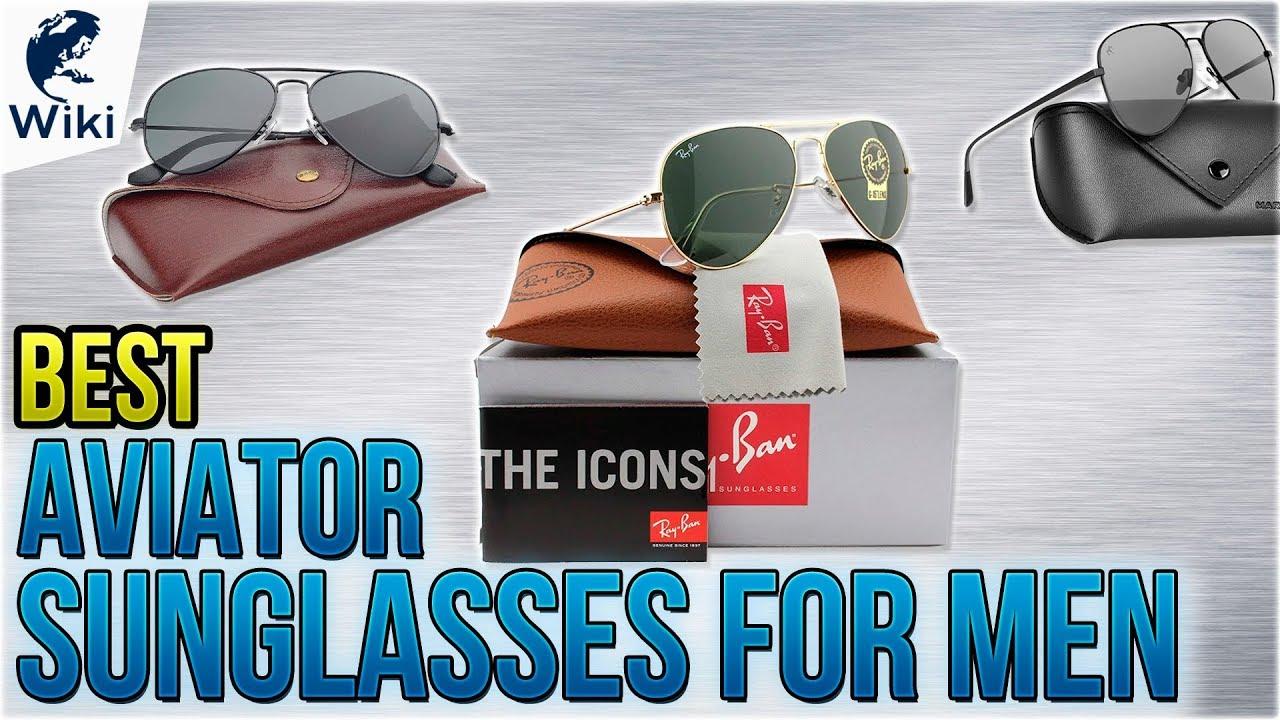 f77b766e035cb 10 Best Aviator Sunglasses For Men 2018 - YouTube