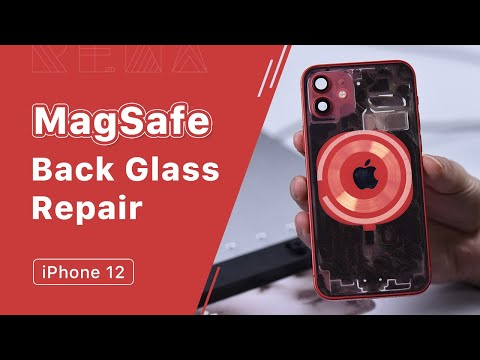 (Almost Failed) The 1st iPhone12 MagSafe Back Glass Demo Case