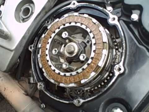 Tl1000s Clutch Change Youtube