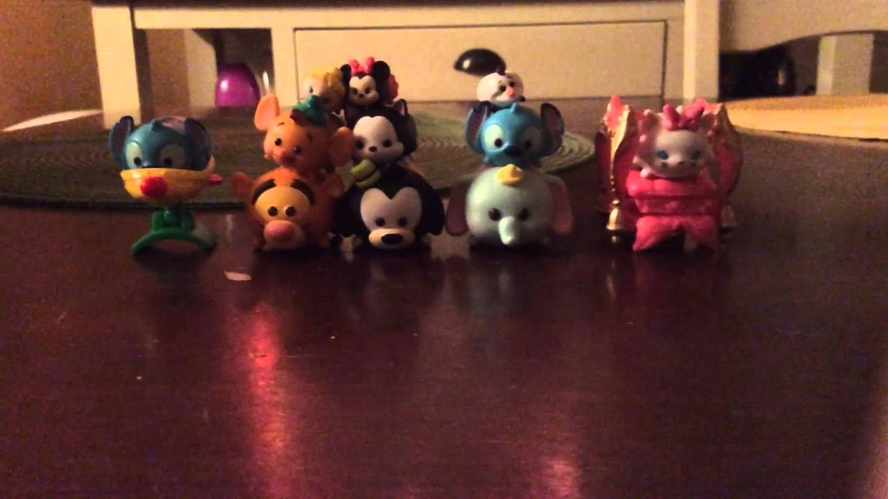 My Tsum Tsum figure collection (so far) - YouTube