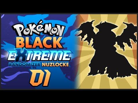 LEGENDARY STARTER AGAIN?!? | Pokemon Black EXTREME Randomizer Nuzlocke Part 1