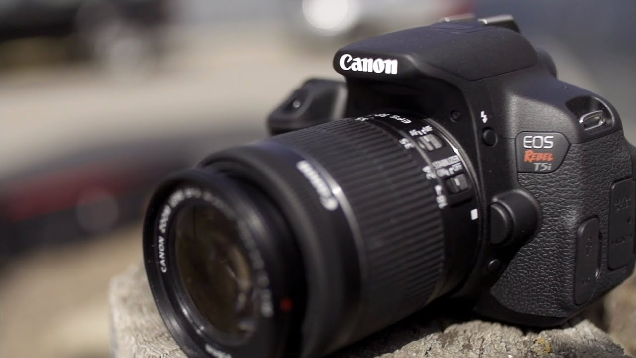 Canon Rebel T5i  700D  Hands On   YouTube