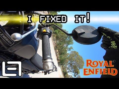 Fixing Loose Mirrors - Royal Enfield Himalayan