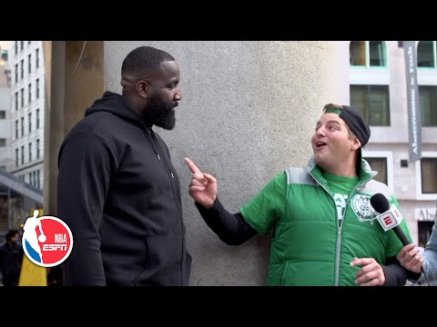 Kendrick Perkins Sneaks Up On Celtics Fans During Championship Roster Quiz | Hoop Streams