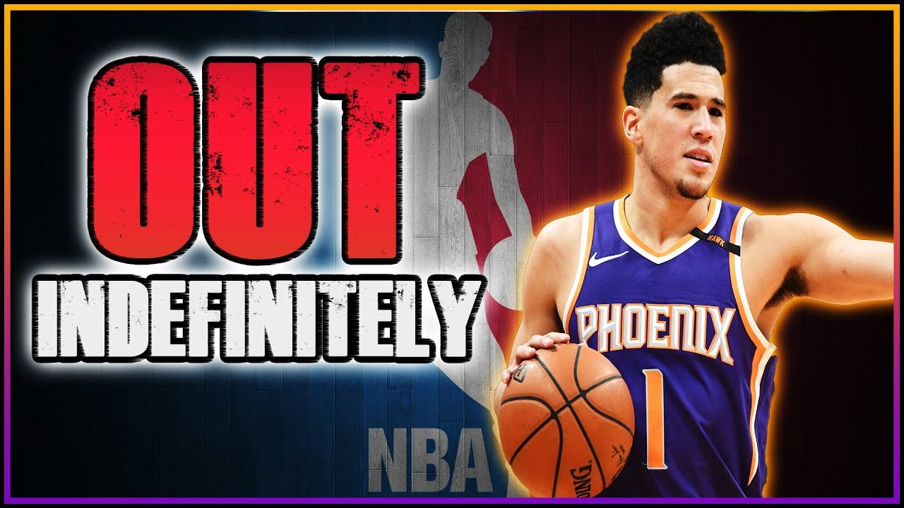 BREAKING NEWS  Devin Booker OUT INDEFINITELY Due To Hand Surgery ... a31ca17ea