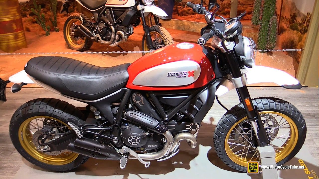 2017 ducati scrambler desert sled red walkaround debut. Black Bedroom Furniture Sets. Home Design Ideas