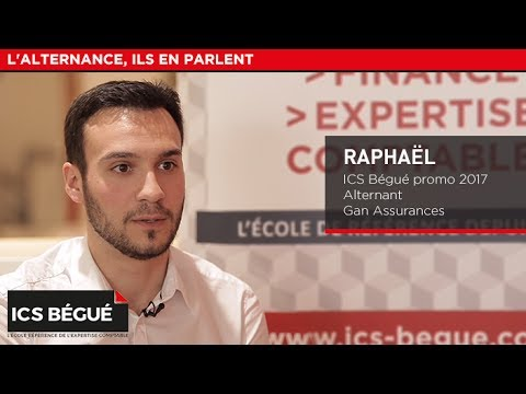 Raphaël (promo 2017), alternant - Gan Assurances