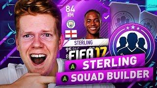 AFFORDABLE PURPLE STERLING NLW HYBRID SQUAD BUILDER!! - FIFA 17 ULTIMATE TEAM