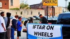 Iftar With The Homeless On A Truck In Ramadan!