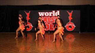 World Salsa Solo 2015 - Amateur Partnered Latin Teams - Tropical Soul Cha Cha Elite