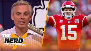 Colin Cowherd predicts Patrick Mahomes' career over the next 12 years | NFL | THE HERD
