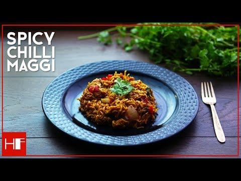 Easy Recipe    Spicy Chilli Maggi