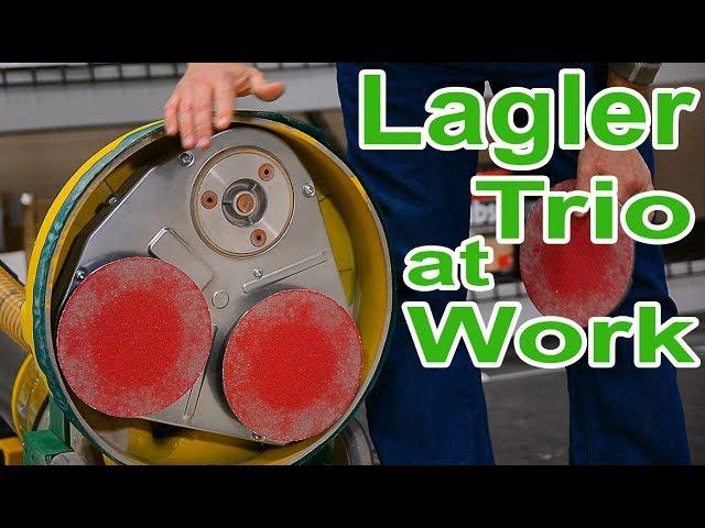 Lagler Trio Sander for Hardwood Flooring