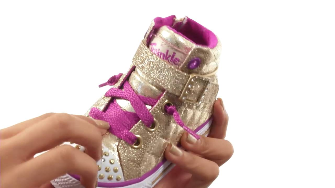 SKECHERS KIDS Twinkle Toes - Shuffles Sweetheart Sole  (Infant Toddler Little Kid) SKU 8696822 e798e5af003