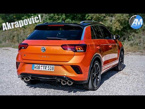 VW T-Roc R (300hp) - pure Akrapovic SOUND💥