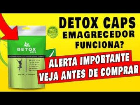 detox caps como tomar