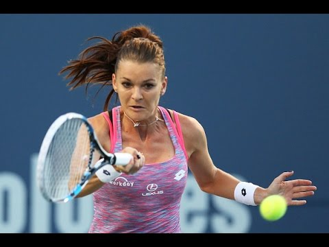 2016 Connecticut Open Quarterfinals | Agnieszka Radwanska vs Kirsten Flipkens | WTA Highlights