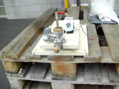 Motorlauf MDS 61 10 ccm Methanolmotor