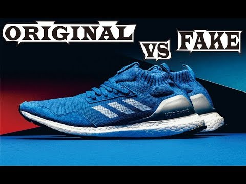 new style 39425 0f784 Difference Adidas Ultra Boost MID RUN THRU TIME Original  Fake