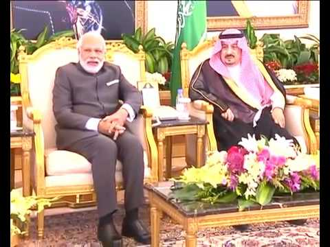PM Narendra Modi gets a rousing reception in riyadh | Breaking news