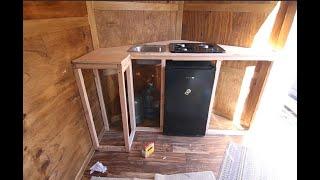 Kitchen Rough In Cargo Trailer Camper Conversion Youtube