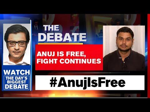 Republic TV's Crew Now Free: MVA Govt's Emergency Mindset Exposed   The Debate With Arnab Goswami