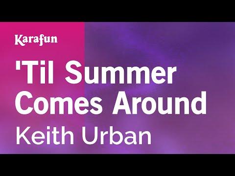 Karaoke 'Til Summer Comes Around - Keith Urban *