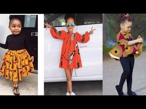 Cute children Ankara/Aso ebi styles African kids Fashion Styles