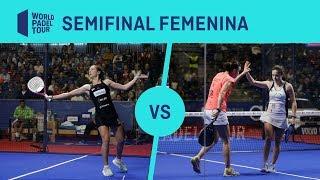 Resumen semifinal femenina Ortega/Marrero Vs Nogueira/Josemaría - Cervezas Victoria Marbella Master