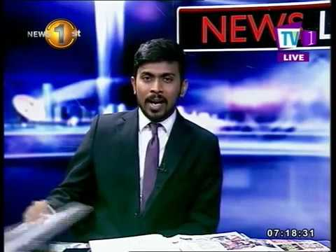 NEWSLINE TV1 10.05.18 - How will the election of Malaysia impact bilateral ties with Sri Lanka.