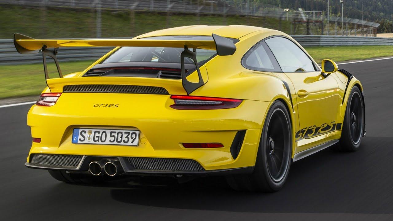2019 Porsche 911 GT3 RS Racing Yellow