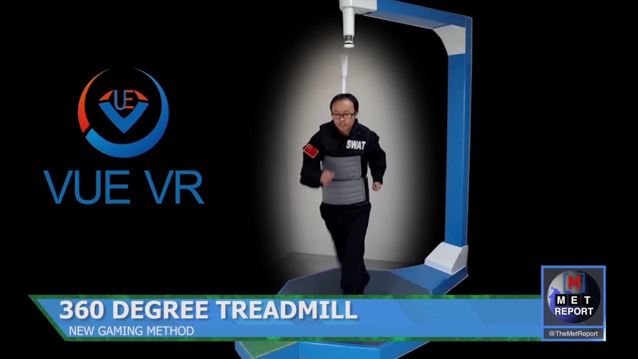 6aaf1bfc09c9 360 Degree Treadmill Gaming - YouTube