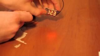 Обзор мини вольтметров + купить 0-200в и 3-30 Вольт. Измеряем напряжение и теституем на погрешность