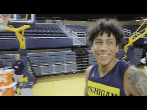 VLOG - Michigan Men's Basketball | Countdown To Tip-Off
