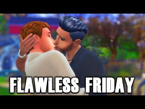 FLAWLESS FRIDAY   BRANT AND BRENT   SIMS 4 TOWNIE MAKEOVERS