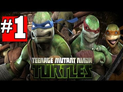 Teenage Mutant Ninja Turtles Out of the Shadows Walkthrough Chapter - 1 [HD] XBOX360 XBLA