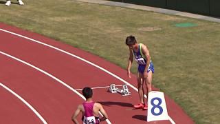 第56回 福井県陸上競技選手権大会 男子400m準決勝2組 2017.05.07 於:...